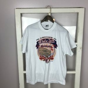 Men's Vtg 1990 Chicago White Sox Single Stitch Tee